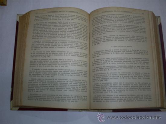 Libros de segunda mano: Derecho Comercial Marítimo Tomo II El transporte marítimo FRANCISCO FARIÑA 1948 RM40877 - Foto 3 - 27248955