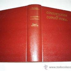 Libros de segunda mano: COMENTARIOS AL CÓDIGO PENAL TOMO I ARTÍCULOS 1-22 JUAN CÓRDOBA RODA ARIEL 1976 RM38188. Lote 185875052