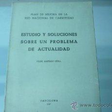 Libros de segunda mano: RED NACIONAL DE CARRETERAS ESPAÑOLAS. Lote 22283193