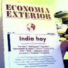 Libros de segunda mano: ECONOMÍA EXTERIOR;Nº39-INDIA HOY- 2006/7;¡NUEVO!. Lote 22357292