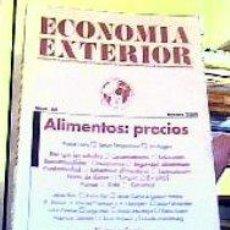 Libros de segunda mano: ECONOMÍA EXTERIOR;Nº45-ALIMENTOS:PRECIOS-VERANO 2008;¡NUEVO!. Lote 22357862