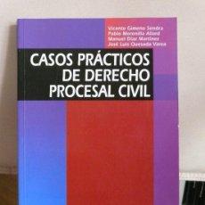 Libros de segunda mano: CASOS PRÁCTICOS DE DERECHO PROCESAL CIVIL.. Lote 22971755