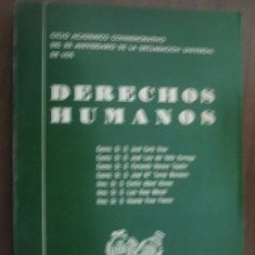 Libros de segunda mano: DERECHOS HUMANOS . 1969. Lote 24268183