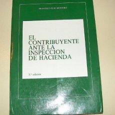 Libros de segunda mano: EL CONTRIBUYENTE ANTE LA INSPECCIÓN DE HACIENDA - EDITORIAL LEX NOVA 1990. Lote 24418026