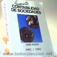 Libros de segunda mano: SUPUESTOS CONTABILIDAD DE SOCIEDADES;JOSÉ RIVERO;TRIVIUM 1992;¡NUEVO!. Lote 27454728