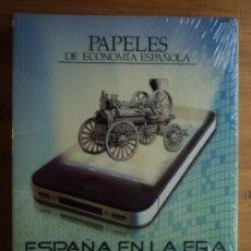 Libros de segunda mano: PAPELES DE ECONOMIA ESPAÑOLA. ESPAÑA EN LA ERA DE LA INNOVACION. CAJAS DE AHORRO. . Lote 26590754