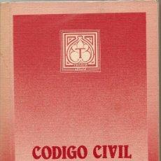 Libros de segunda mano: CÓDIGO CIVIL. Lote 26750992