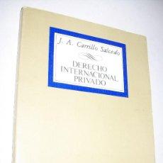 Libros de segunda mano: DERECHO INTERNACIONAL PRIVADO, INTRODUCCIÓN A SUS PROBLEMAS FUNDAMENTALES-J.A.CARRILLO SALCEDO-1985. Lote 27972586