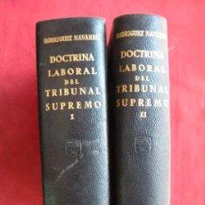 Libros de segunda mano: DOCTRINA LABORAL DEL TRIBUNAL SUPREMO - MANUEL RODRIGUEZ . DERECHO. AGUILAR. Lote 28182657