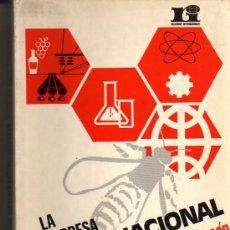 Libros de segunda mano: TRIGO CHACÓN MANUEL. LA EMPRESA MULTINACIONAL. 1ª ED. MADRID. 1973. ECONOMÍA.. Lote 28778268