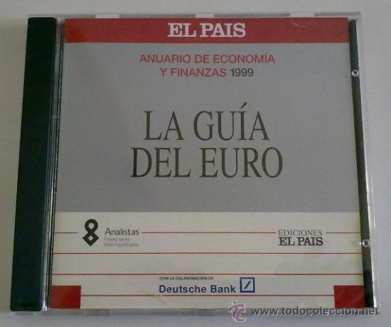 LA GUÍA DEL EURO EN CD-ROM PARA ORDENADOR. ANUARIO DE ECONOMÍA Y FINANZAS DE ELPAIS 1999 (Libros de Segunda Mano - Ciencias, Manuales y Oficios - Derecho, Economía y Comercio)