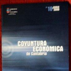Libros de segunda mano: COYUNTRA ECONÓMICA DE CANTABRIA-I TRIMESTRE 2008-;Nº 18 JUNIO 2008;¡NUEVO!. Lote 29057096