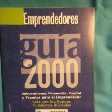 Libros de segunda mano: EMPRENDEDORES, GUIA 2000, . Lote 29075866