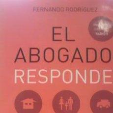Libros de segunda mano: EL ABOGADO RESPONDE.FERNANDO RODRIGUEZ 2001. Lote 54207960