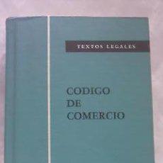 Libros de segunda mano: CÓDIGO DE COMERCIO TEXTOS LEGALES. BOLETÍN OFICIAL DEL ESTADO.1983. Lote 29680885