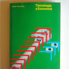 Libri di seconda mano: TECNOLOGIA Y ECONOMIA - NATHAN ROSENBERG. Lote 31083708