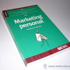 Libros de segunda mano: 2006 - ACOSTA VERA - MARKETING PERSONAL - ESIC. Lote 31043015
