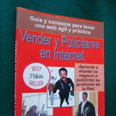 Libros de segunda mano: VENDER Y PUBLICITARSE EN INTERNET-WEB VIRTUAL AGIL PRACTICA-RED-IVAN VAZQUEZ-LA CORUÑA-2002.RARO. Lote 31109384