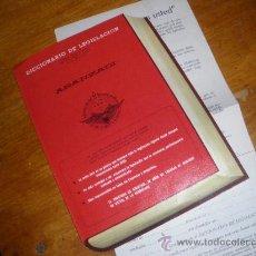 Libros de segunda mano: DICCIONARIO DE LEGISLACION ARANZADI. BIBLIOTECA DE DERECHO POSITIVO. CATALOGO.. Lote 31139848