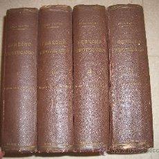 Libros de segunda mano: 1948. DERECHO HIPOTECARIO. ROCA Mª SASTRE. 4 VOLS. COMPLETO. Lote 31632429