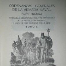 Libros de segunda mano: ORDENANZAS GENERALES DE LA ARMADA NAVAL.ORDENANZAS GENERALES DE LA ARMADA NAVAL.PARTE PRIMERA (1950). Lote 31977598
