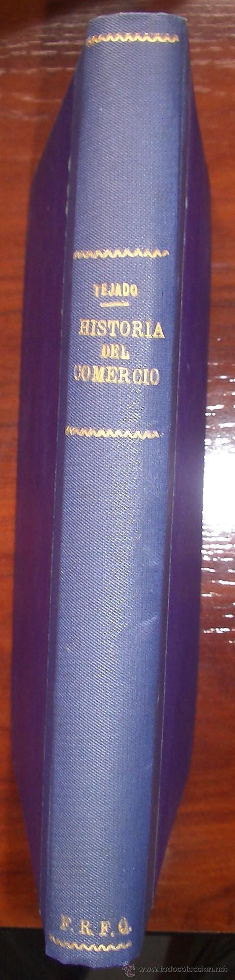 Libros de segunda mano: Historia del Comercio. M. Tejado Fernández. 1960 - Foto 2 - 32295422