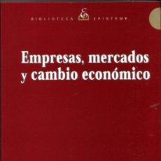 Libros de segunda mano: EMPRESAS, MERCADOS Y CAMBIO ECONOMICO. LANGLOIS, RICHARD N. ROBERTSON, PAUL L.. Lote 32394610