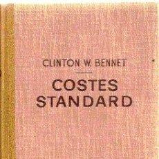 Libros de segunda mano: COSTES STANDART /// CLINTON W. BENNET. Lote 32651969