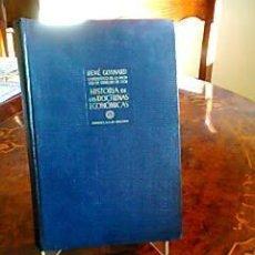 Libros de segunda mano: HISTORIA DE LAS DOCTRINAS ECONOMICAS.RENE GONNARD .AGUILAR 1956. Lote 32618352
