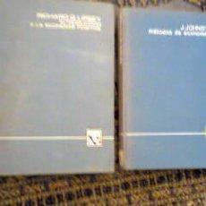Libros de segunda mano: INTRODUCCION A LA ECONOMIA POSITIVA Y METODOS DE ECONOMETRIA ED,V,VIVES. 1967 Y 1970. Lote 32962141
