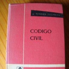 Libros de segunda mano: CÓDIGO CIVIL. Lote 33067096