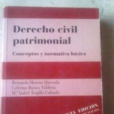 Libros de segunda mano: DERECHO CIVIL PATRIMONIAL -QUINTA EDICIÓN-. Lote 33241838