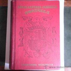 Libros de segunda mano: ENCICLOPEDIA JURIDICA ESPAÑOLA - FRANCISCO SEIX - APENDICE 1946. Lote 33514033