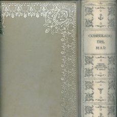 Libros de segunda mano: LIBRO DEL CONSULADO DEL MAR. BARCELONA, 1965 . FACSIMIL 1791. Lote 33987775