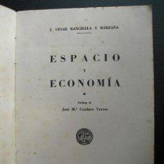 Libros de segunda mano: ESPACIO Y ECONOMIA BANCIELLA Y BARZANA. Lote 34264269