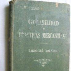 Libros de segunda mano: CONTABILIDAD Y PRÁCTICAS MERCANTILES. BRUÑO, G.M. . Lote 34547768