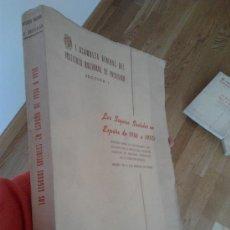 Libros de segunda mano: LOS SEGUROS SOCIALES EN ESPAÑA DE 1936 A 1950 / LUIS JORDANA DE POZAS. Lote 34592452