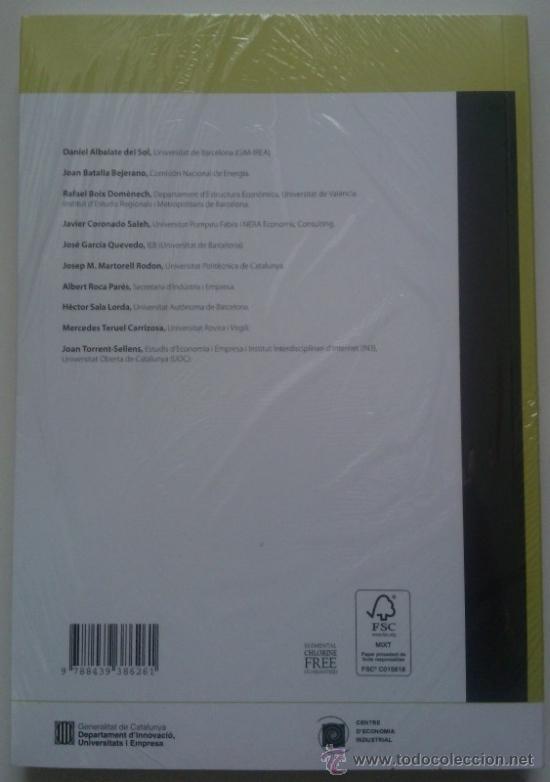 Libros de segunda mano: La indústria catalana després de la crisi (Papers deconomia industrial Núm. 32) 2011. Nuevo! - Foto 2 - 35814942