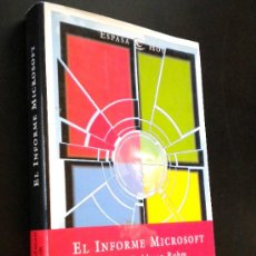 Libros de segunda mano: EL INFORME MICROSOFT (SPANISH EDITION)/ ROHM, WENDY GOLDMAN. Lote 36147361