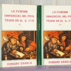 Libros de segunda mano: EL COMERCIO Y TRÁFICO MARÍTIMO DEL NORTE DE ESPAÑA EN EL SIGLO XVIII (DOS VOLÚMENES). Lote 36640497