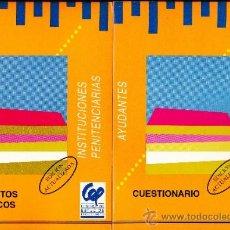 Libros de segunda mano: 4 TOMOS-- INSTITUCIONES PENITENCIARIAS CENTRO DE ESTUDIOS PROCESALES. Lote 36988268