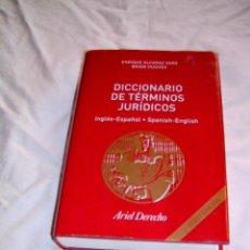 Libros de segunda mano: DICCIONARIO DE TÉRMINOS JURÍDICOS · INGLÉS-ESPAÑOL · SPANISH-ENGLISH · DERECHO. Lote 37503778