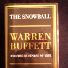 Libros de segunda mano: THE SNOWBALL. WARREN BUFFETT. ALICE SCHOROEDER. BLOOMSBURY 2008 959 PAG. Lote 39116519