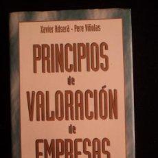 Libros de segunda mano: PRINCIPIOS DE VALORACION DE EMPRESAS. ADSERÁ YVIÑOLAS. DEUSTO. 1997 314 PAG. Lote 39149583