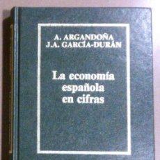 Libros de segunda mano: LA ECONOMIA ESPAÑOLA CIFRAS (ARGANDOÑA & GARCÍA-DURÁN) ORBIS (1985) BIBLIOTECA DE ECONOMÍA ESPAÑOLA. Lote 37954896