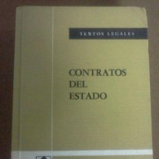 Libros de segunda mano: CONTRATOS DEL ESTADO - TEXTOS LEGALES - B.O.E (1979). Lote 37989386