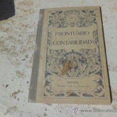 Libros de segunda mano: LIBRO PRONTUARIO DE CONTABILIDAD G.M. BRUÑO L-3908. Lote 38044489