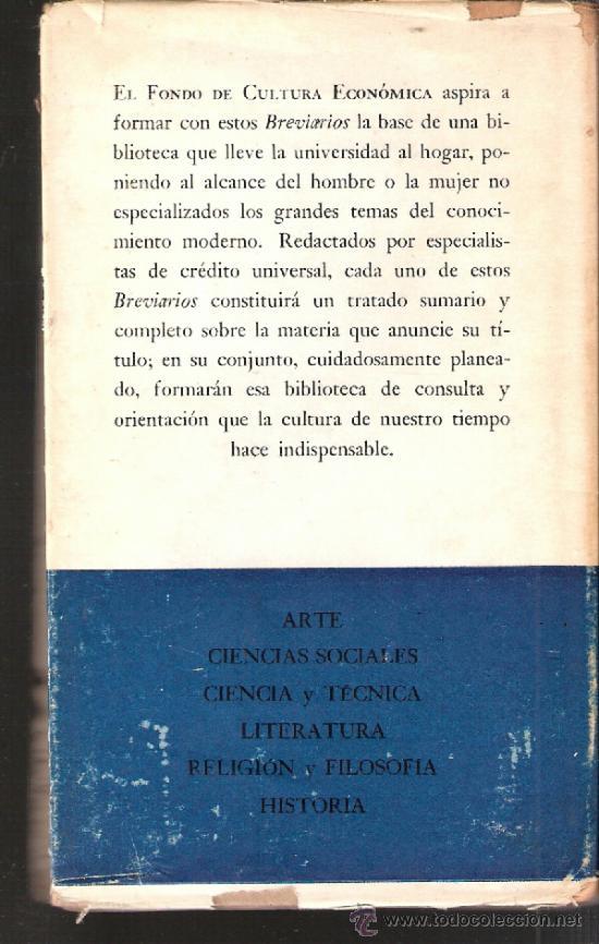 Libros de segunda mano: Breviarios. Introduccion al Derecho. P. Vinogradoff.Fondo de Cultura economica.1ª ed. 1952 - Foto 4 - 38497450