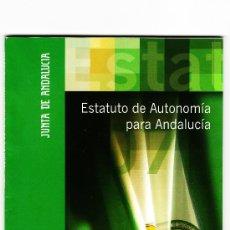 Libros de segunda mano: ESTATUTO DE AUTONOMÍA PARA ANDALUCÍA. Lote 38714860
