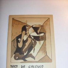 Libros de segunda mano: TEST DE CÁLCULO MERCANTIL . Lote 38963945
